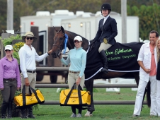 "Samantha Schaefer Defends Her Title At <a href=""http://www.chronofhorse.com/article/take-two-schaefer-sam-edelman-equitation-champion-second-year-running"">The $10,000 Sam Edelman Equitation Championship </a>"