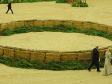 The hay circle