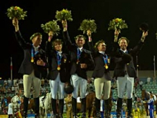 The German Eventing Team