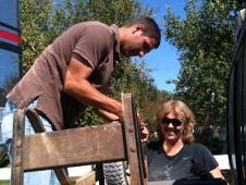 Securing The Wheelbarrow