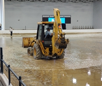 Flooded Indoor Ring