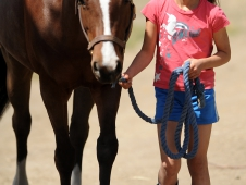 Mia Farley and Precious Gem
