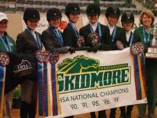 Skidmore College Wins 2010 IHSA Collegiate Cup Championship