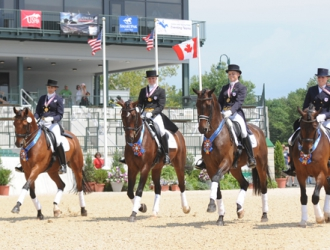 2010 NAJYRC Young Rider Team Dressage