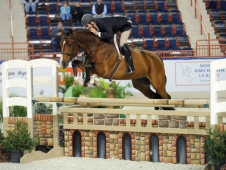 "Betsee Parker's Lone Star soared to the regular working hunter title at the <a href=""http://www.chronofhorse.com/article/lone-star-wrangles-big-win"">Pennsylvania National. </a>"