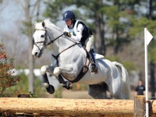Kim Severson And Tipperary Liadhnan Galloped Away With The Lead After Cross-Country At Southern Pines