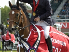 Jeroen Dubbeldam and BMC Van Grunsven Simon Enjoyed A Victory Gallop At Spruce Meadows
