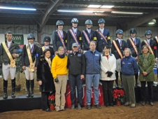 USHJA Emerging Athletes Program Participants and Clinicians