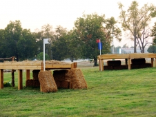 Fence 9 AB—The Pasture Hay Feeders