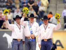 United States Takes Top Two Spots In WEG Reining