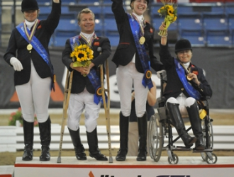 2010 WEG Para Dressage Team and Individual