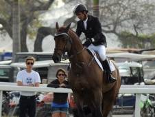Champ 163 and Rodrigo Pessoa