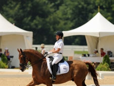 "Isabelle Leibler Claimed <a href=""http://chronofhorse.com/article/leibler-rides-young-rider-gold""> Young Rider Individual Gold </a>"
