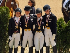 Young Rider Bronze Medalists