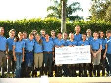 Robert Dover Horsemastership Clinic Group Shot