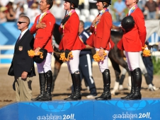 "The U.S. Show Jumpers Won <a href=""http://www.chronofhorse.com/article/us-show-jumpers-earn-golden-ticket-london"">Team Gold</a> At The Pan American Games"