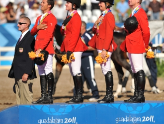 2011 Pan American Games Show Jumping Gold Medal Win