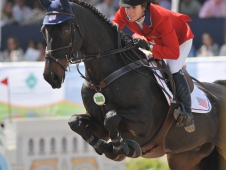 "Christine McCrea Wins <a href=""http://www.chronofhorse.com/article/mccrea-stays-perfect-individual-gold"">Pan American Show Jumping Gold</a>"