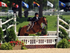 """Kirklen Petersen and Magical Diamond won the grand green pony hunter championship at <a href=""""https://www.chronofhorse.com/article/magical-diamond-sparkles-usef-pony-finals"""">USEF Pony Finals.</a>"""