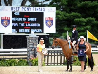 2011 USEF Pony Finals Large Ponies