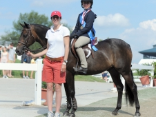 "Madison Goetzmann topped the <a href=""http://www.chronofhorse.com/article/goetzman-gets-it-done-usef-pony-medal-final"">USEF Pony Medal Final.</a>"