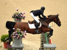 "Mario Deslauriers and Urico Win <a href=""http://www.chronofhorse.com/article/urico-outdoes-rest-75000-commonwealth-grand-prix""</a>$75,000 Commonwealth Grand Prix"