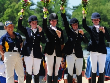 Area VI, VII and IX Earn Young Rider Gold