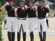 Canada Quebec Young Riders Take Bronze