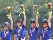 "Region 5 Young Riders Are Flawless At The <a href=""http://chronofhorse.com/article/region-5-forges-gold"">NAJYRC</a>"
