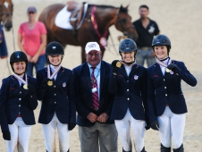 "Zone 2 Wins Junior Gold at <a href=""http://chronofhorse.com/article/zone-2-teams-sweep-adequanfei-najyrc-show-jumping-medals"" target=""_blank"">NAJYRC</a>"