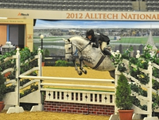 "Casallo And Liza Towell Won Grand Hunter At The <a href=""http://www.chronofhorse.com/article/casallo-has-breakfast-champions-alltech-national-horse-show"">Alltech National</a>"