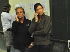 Caroline Weeden and Rachel Kennedy