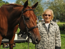 Helen Lenahan and Miss Lucy
