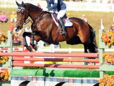 "Hannah Sue Burnett And Harbour Pilot Led The <a href=""http://www.chronofhorse.com/article/burnett-wins-wire-wire-fair-hill"">Dansko Fair Hill CCI*** </a>From Start To Finish"