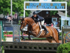 Tori Colvin And Ovation Earn Applause At Devon