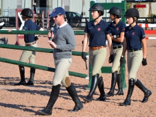 "McLain Ward Led A Course Walk At The <a href=""http://www.chronofhorse.com/article/2012-george-h-morris-day-5-glimpse-future"">2012 George H. Morris Horsemastership Training Session</a>"