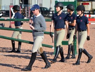 2012 George H. Morris Horsemastership Training Session Day 5