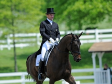 """Mystery Whisper and Phillip Dutton Win <a href=""""http://chronofhorse.com/article/mystery-whisper-proclaims-his-dressage-dominance"""" target=""""_blank""""> The Jersey Fresh CCI*** Dressage</a>"""