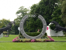 Fence 28: The Olympic Horses