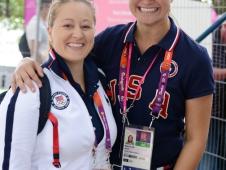 Jenny Van Wieren-Page and Adrienne Lyle