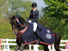 """Lisa Wilcox And Pikko Del Cerro HU Sweep <a href=""""http://www.chronofhorse.com/article/pikko-del-cerro-hu-scores-another-developing-horse-victory"""">USEF Developing Horse Grand Prix Championship</a>"""