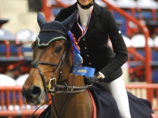 "Dana Scott Celebrates At <a href=""http://www.chronofhorse.com/article/dana-scott-all-clean-win-junior-jumper-gold"">Harrisburg</a>"