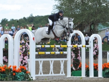 """<a href=""""http://www.chronofhorse.com/article/ward-claims-pot-gold-hits-saugerties"""">Pfizer $1 Million Grand Prix</a> Goes To Antares F and McLain Ward"""