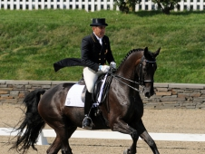 Cesar Parra And Van The Man Sweep Saugerties CDI-W Grand Prix
