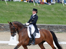 Melissa Taylor And Schumacker Solyst Swept Saugerties CDI-W Grand Prix Freestyle