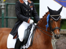 "Brandi Roenick And Pretty Lady Took Home Blue At The <a href=""http://www.chronofhorse.com/article/roenick-uhlir-and-davis-dominate-youth-championships-usef-dressage-"">USEF Dressage Festival Of Champions</a>"