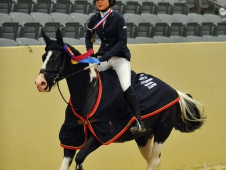 Keely Laughlin Earns Individual USEF Pony Finals Jumper Title