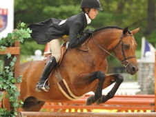 "For The Laughter And Maddie Darst Win At <a href=""https://www.chronofhorse.com/article/laughter-gets-his-fourth-pony-finals-championship"">USEF Pony Finals.</a>"