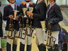 Zone 4 Team Sweeps Pony Jumper Championship At USEF Pony Finals
