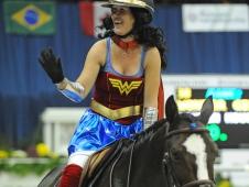 Wonder Girl and Lauren Hough